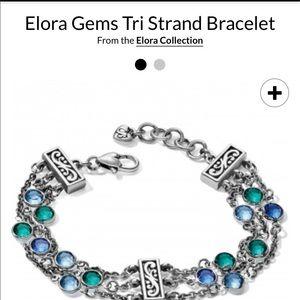 Elora Tri strand bracelet STUNNING NWT